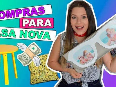 COMPRAS DE DECORAÇÃO PARA CASA NOVA | URSULA ANDRESS