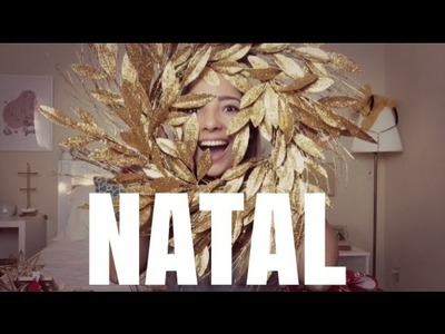 Compras de decoração pro NATAL