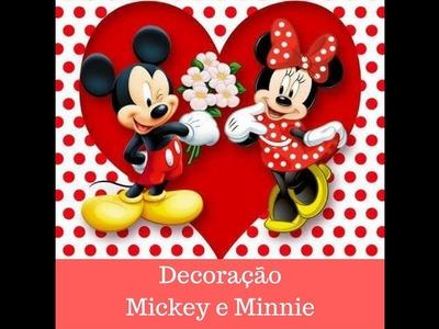 Curso Decoração de Festa Infantil Mickey e Minnie