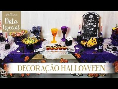 Data Especial - Decoração Halloween
