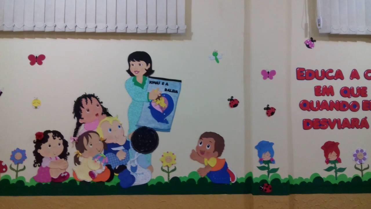 Decoração - sala de aula em eva