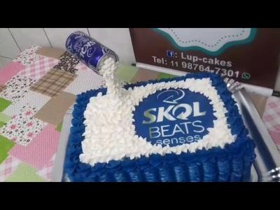 Decoração Skol Beats Azul