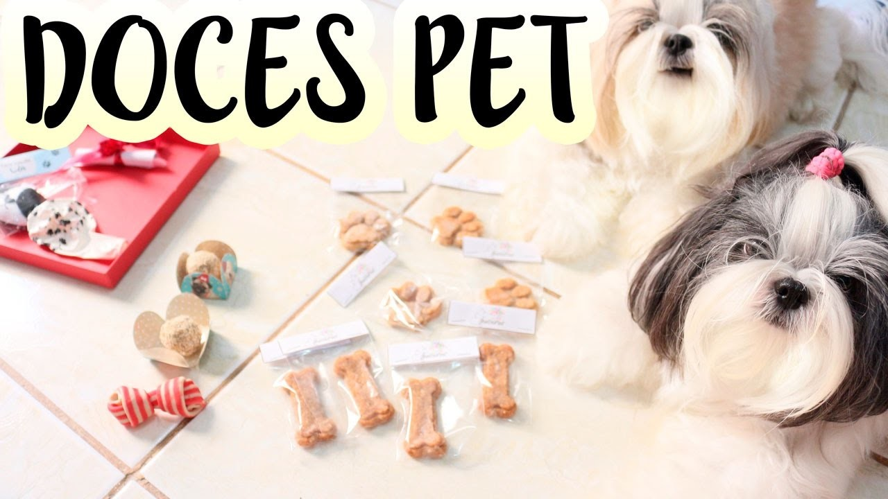 Festa Pet: Doces Personalizados, Lembrancinhas e Decoração Para Cachorros e Pessoas ❤ Lói Cúrcio