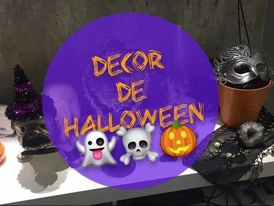 TOUR pelo APÊ: Sala Decoração de Halloween!!