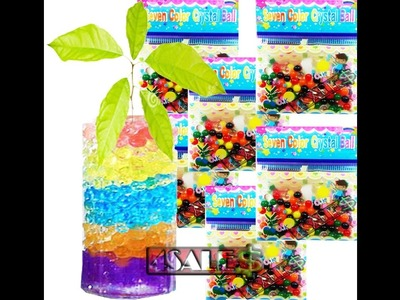Bolinha de Gel - Decoração Planta - Color Crystal Ball