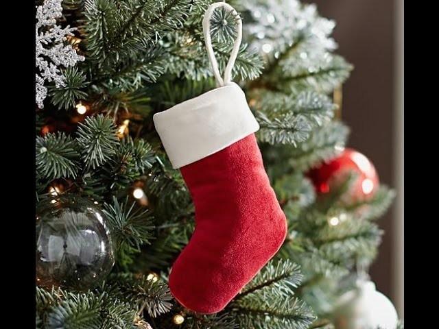 Bota do papai noel para decoração de natal # vídeo 3