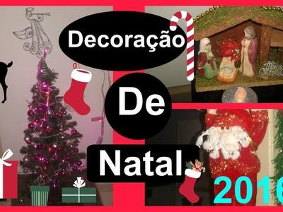 Comprinhas & Decoração de Minha Casa para o Natal 2016