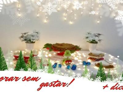 Decoração Confraternização de Natal | Projeto Colaborativo |