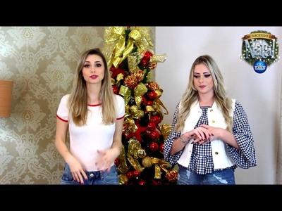Decoração de Natal com Amanda Domenico e Jana Taffarel :)
