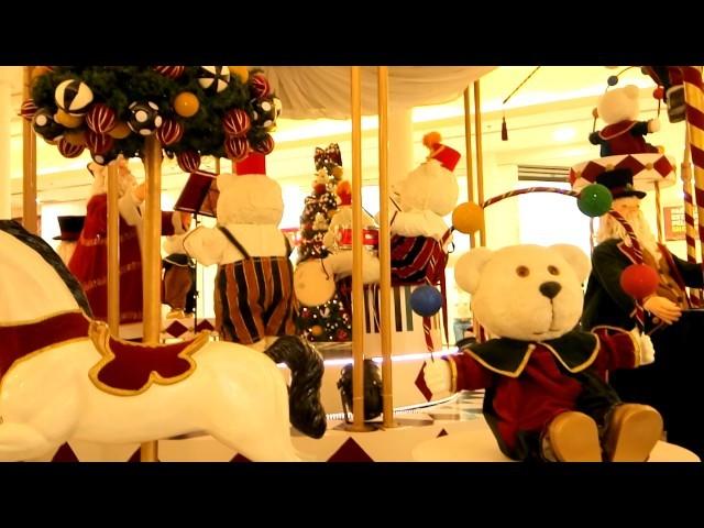 Decoração de Natal do Shopping Curitiba