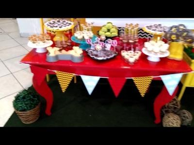 Decoração Festa Snoopy - Delícia de Sonho