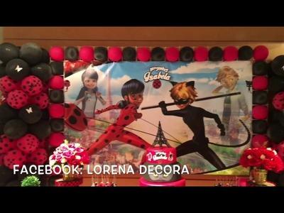 Decoração Lady Bug - Isabela 10 Anos (Lorena Decora)