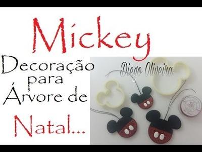 Mickey - Decoração de arvore de NATAL