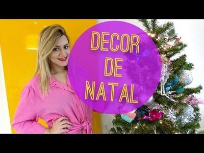 Tour Pelo Apê: Decoração e Árvore de Natal!!