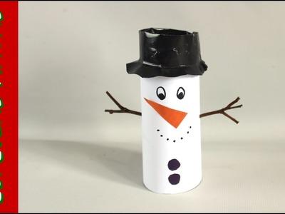 Boneco de Neve - Decoração de Natal ????⛄???? sem gastar nada