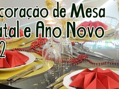 Decoração de Mesa para Natal e Ano Novo #2
