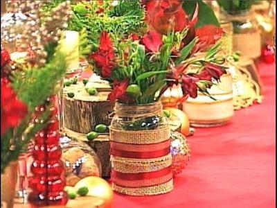 Decoração de Natal com itens sustentáveis e acessíveis | SEMPRE FELIZ