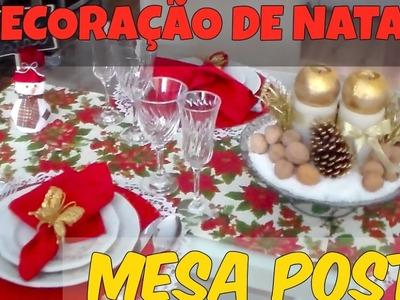 DECORAÇÃO DE NATAL - MESA POSTA POR DIARIO DA VAL