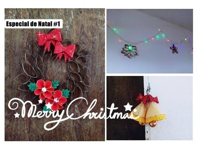 Decoração para parede, porta e janela. Especial de natal  #1
