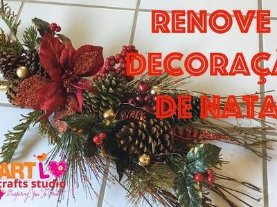 Renove A Decoração De Natal Sem Gastar  - LAST MINUTE Xmas Decor Redo E 52 ENG.ESP SUB