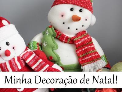 Tour Pela Decoração de Natal da Minha Casal!!!