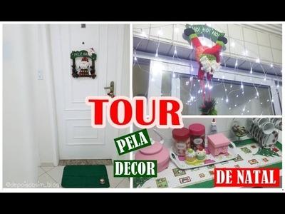 Tour pela decoração de natal + Feliz natal para minhas lindas e lindos   Depois do Sim blog