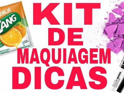 D.I.Y.Dicas de Make Para Criança #2+Criando kit de Maquiagem(COMO FAZER ) .