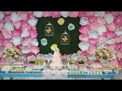 Decoração | Festa Jardim das Borboletas