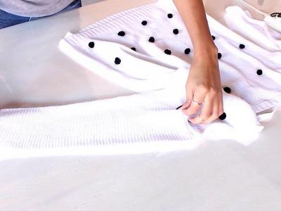DIY:: Blusa de bolinha