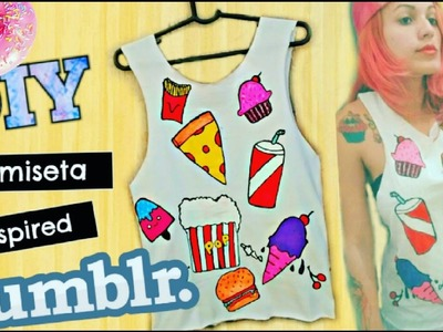 Diy: Camiseta de lanches