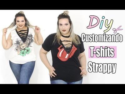 Diy: Customizando Camisetas com tiras Strappy