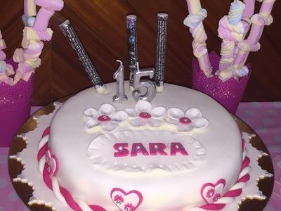 DIY: Decoração aniversário com AMOR ROMEIRA