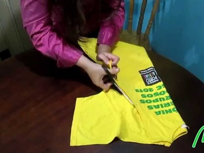 Customização de camiseta - DIY t-shirt