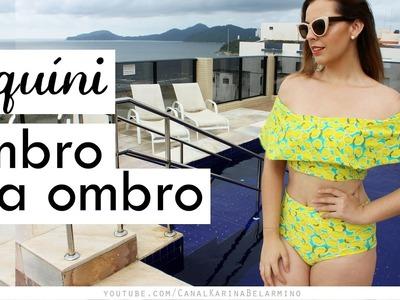 DIY Biquini Ombro a Ombro | Karina Belarmino