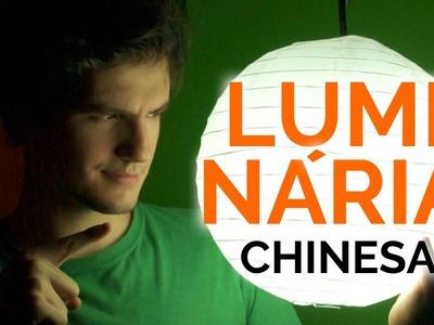 Luminária Chinesa: Como Fazer | LUZ ACESSÍVEL