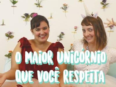Tutorial #18 de Carnaval: DIY tiara de unicórnio!
