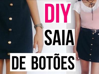 COMO FAZER SAIA DE BOTÃO | DIY