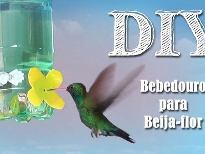 DIY Bebedouro para Beija-flores