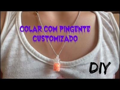 DIY: COLAR COM PINGENTE CUSTOMIZADO