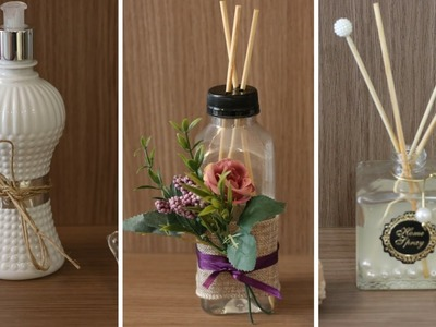DIY - Como decorar e perfumar sua casa - Aromatizador de ambientes  #clubedacasa