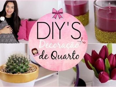 DIY - Decoração de Quarto ♥︎ Fácil & Barata