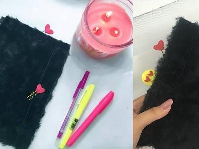 DIY: Personalizando agenda com tecido