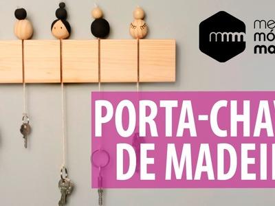 DIY: porta-chaves de madeira