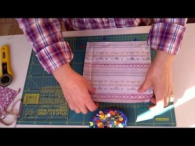 PAP- Passo a Passo de Bloco de Patchwork - Técnica HST - Modo prático - vídeo 1