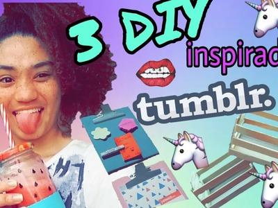 3 DIY Inspirados no Tumblr.Pinterest