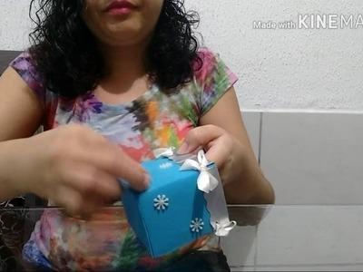 Diy: centro de mesa, porta treco ou caixa surpresa com caixa de leite
