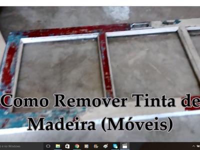 Diy | Como Remover Tinta da Madeira. Por Carla Oliveira
