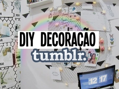 DIY decoração estilo  tumblr.pinterest