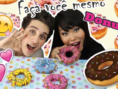 DIY; Faça você mesmo! Chaveiro Donuts