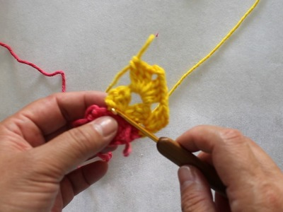 Patchwork em crochê - Parte 2